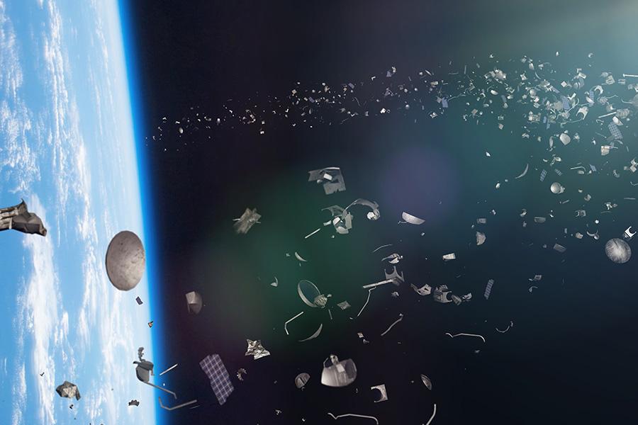 Déchets dans l'espace, notre orbite devient-elle une poubelle à ciel ouvert ?